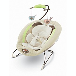 Fisher-Price® My Little Snugabunny Deluxe Bouncer in Green/Brown