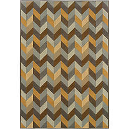 Cabana Bay Baltic Amherst Indoor/Outdoor Rug in Grey