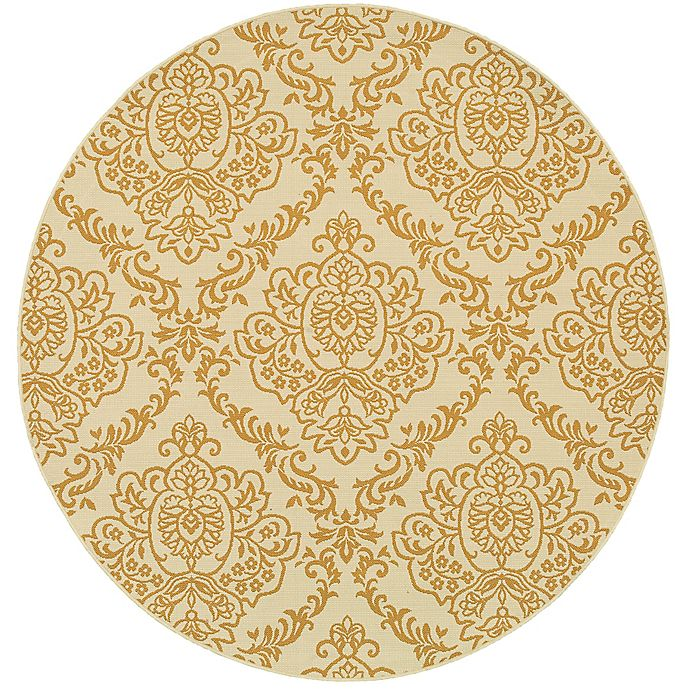 Alternate image 1 for Cabana Bay Baltic Callan Indoor/Outdoor 7'10 Round Woven Round in Ivory