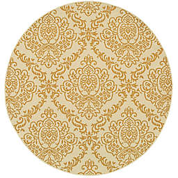 Cabana Bay Baltic Callan Indoor/Outdoor 7'10 Round Woven Round in Ivory