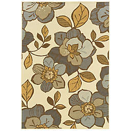 Cabana Bay Baltic Eagen Indoor/Outdoor Rug in Ivory