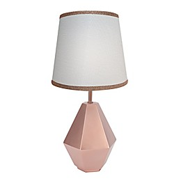 Lambs & Ivy® Botanical Baby Lamp in Rose Gold