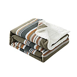 Pendletton® Sanford Stripe Throw Blanket in Capers