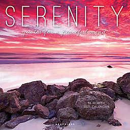 Graphique® de France Serenity 2021 Wall Calendar