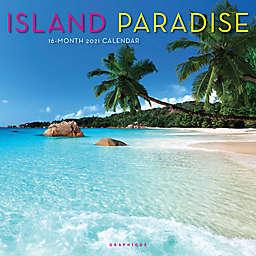 Graphique® de France Island Paradise 2021 Wall Calendar