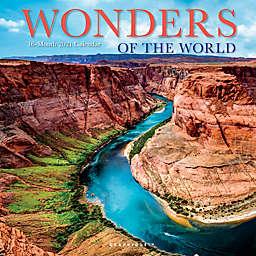 Graphique® de France Wonders of the World 2021 Wall Calendar