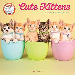 Graphique® de France Cute Kittens 2021 Wall Calendar