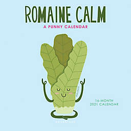 Graphique® de France 2021 Romaine Calm Mini Wall Calendar