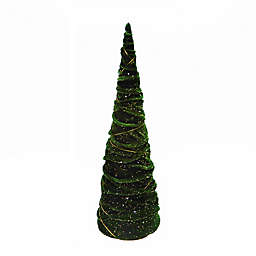 15.25-Inch Christmas Cone Trees (Set of 3)