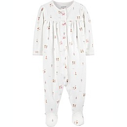 carters® Character Friends Snap-Up Sleep & Play in Ivory