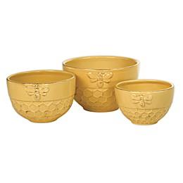 Boston International Honeycomb 3-Piece Nesting Bowl Set