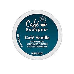 Café Escapes® Café Vanilla Keurig® K-Cup® Pods 24-Count
