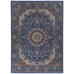 Linon Rendition Kimpton Rug in Blue
