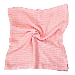 BedVoyage Panda Baby Knitted Rayon Viscose Blanket in Petal