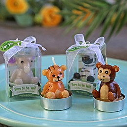 Kate Aspen® Born to be Wild Animal Candles - Set of 4