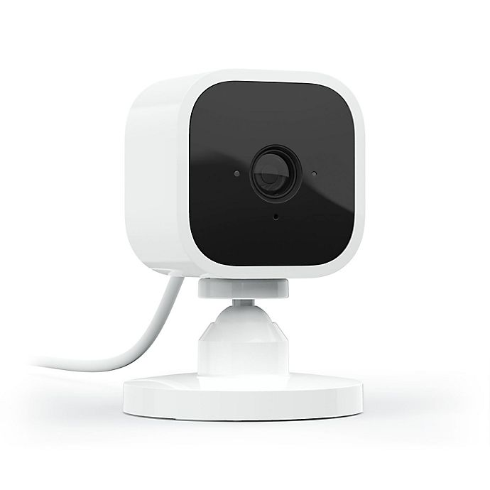 Alternate image 1 for Blink by Amazon 1-Pack Mini Indoor Camera in White