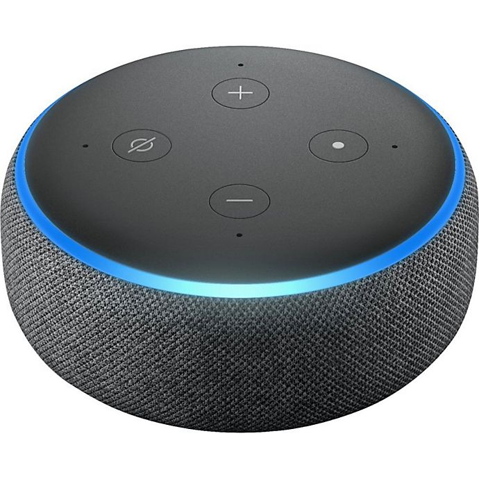 Alternate image 1 for Amazon Echo Dot 3rd Generation in Charcoal
