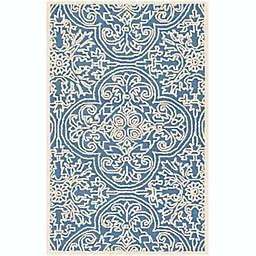 Safavieh Trace Jardes 5' x 8' Area Rug in Blue