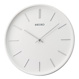 Seiko 13-Inch Pax Wall Clock in White