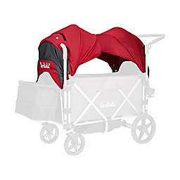 Larktale™ Caravan Stroller/Wagon Canopy Set in Barossa Red