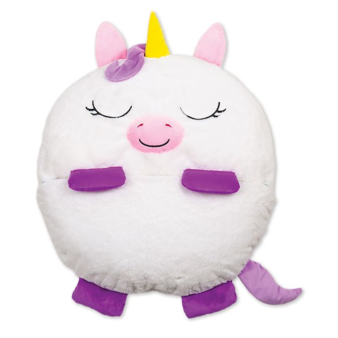 Alternate image 1 for Happy Nappers™ 2-in-1 Unicorn Pillow in White