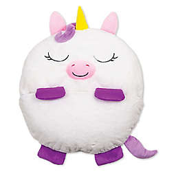 Happy Nappers™ 2-in-1 Unicorn Pillow in White