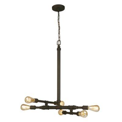 Eglo Mayview 3 Light Matte Bronze Chandelier 202788A The