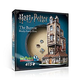 Wrebbit™ Harry Potter™ 415-Piece The Burrow Weasley Family Home 3D Puzzle