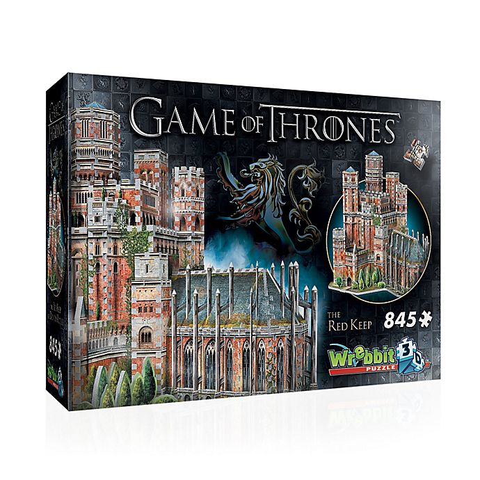 Alternate image 1 for Wrebbit™ Game of Thrones 845-Piece The Red Keep 3D Puzzle