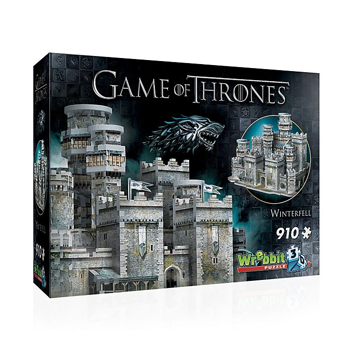 Alternate image 1 for Wrebbit™ Game of Thrones 910-Piece Winterfell 3D Puzzle