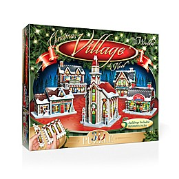 The Christmas Village 116-Piece 3D Panel Puzzle