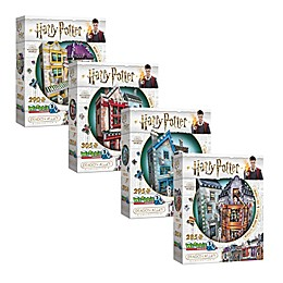 Wrebbit™ Harry Potter™ Diagon Alley 3D Puzzle Bundle