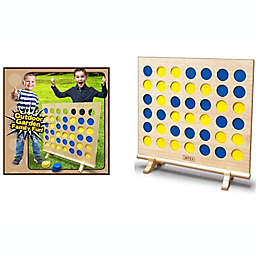 Giant Wooden 4-In-A-Row Lawn Game