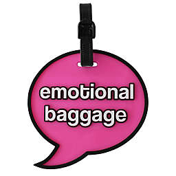 MYTAGALONGS Emotional Luggage Tag in Pink