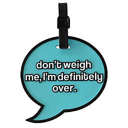 MYTAGALONGS Oversized Luggage Tag in Teal