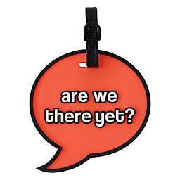 """MYTAGALONGS® """"Are We There Yet?"""" Luggage Tag in Orange"""