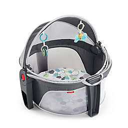 Fisher-Price® Hexagons On-the-Go Baby Dome in Grey