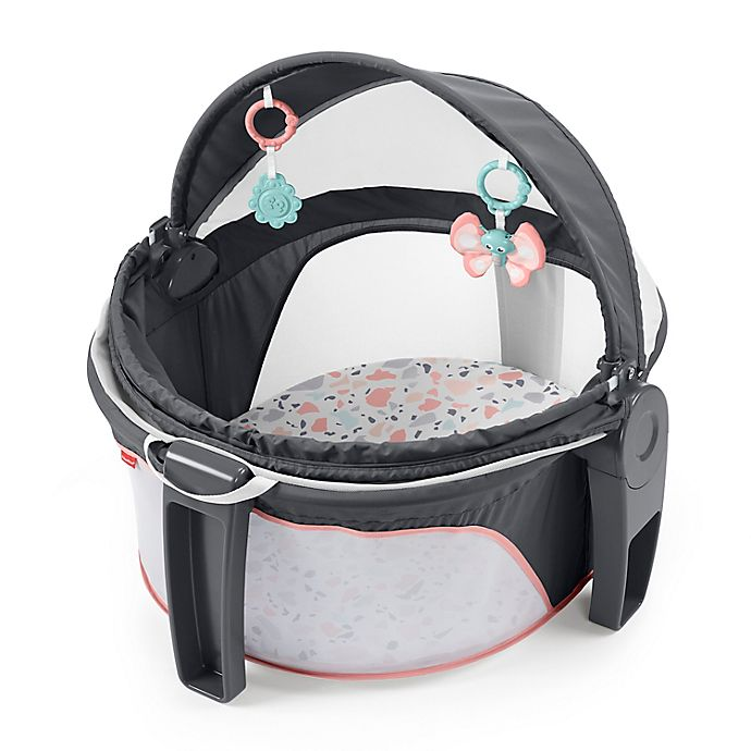Alternate image 1 for Fisher-Price® Pebbles On-the-Go Baby Dome in Pink