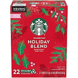 Starbucks® Holiday Blend Coffee Keurig® K-Cup® Pods 22-Count