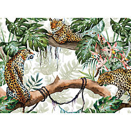 Leopard Jungle Placemats in Green (Set of 4)