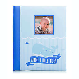 Pearhead® Little Blossoms Nautical Baby Book