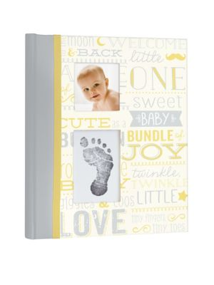 Linen Ivory Pearhead Pearhead Babybook