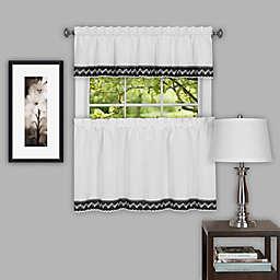 Camden Kitchen Window Curtain Tier Pair