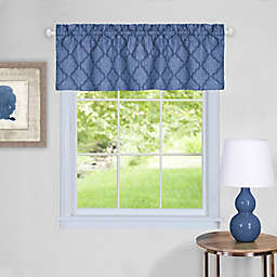 Colby Window Valance in Blue