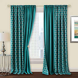 MyHome Prelude Rod Pocket Room Darkening Window Curtain Panel (Single)