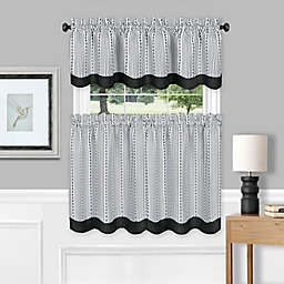 Westport Window Curtain Tier Pair & Valance