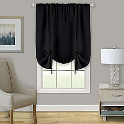 MyHome Darcy 63-Inch Rod Pocket Window Curtain Tie Up Shade