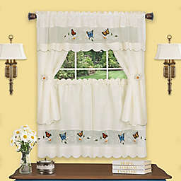 Daisy Meadow Embellished Cottage Tier Pair