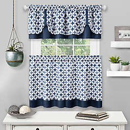 Blue Kitchen Curtains Bed Bath Beyond