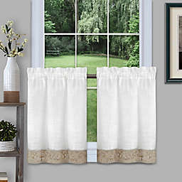 MyHome Oakwood Window Curtain Tier Pair